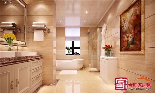 清爽洁净卫浴空间 6款干湿分离卫生间设计