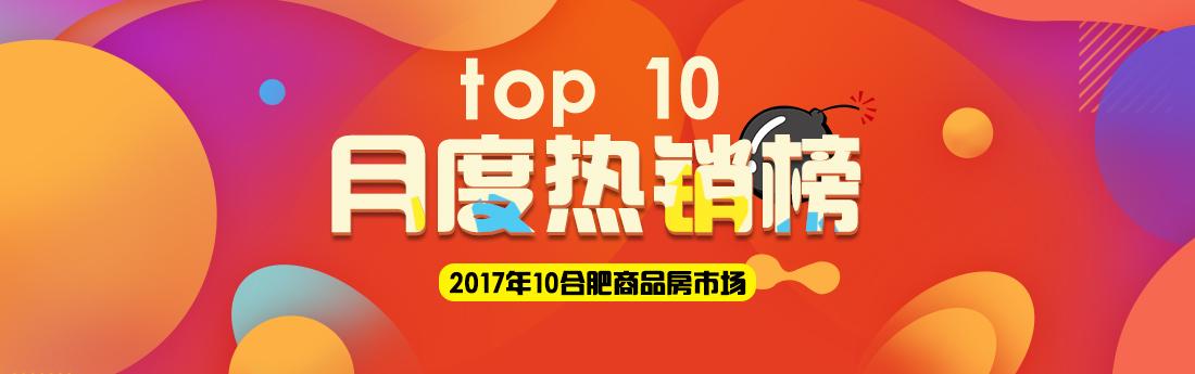 10月合肥商品房市场成交top10