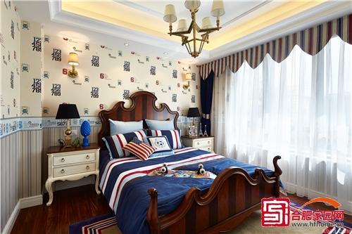 清新典雅欧式风 实用小户型卧室设计