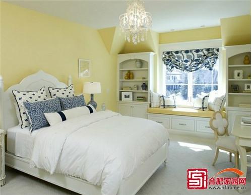 惬意休闲家居生活 清新卧室飘窗设计