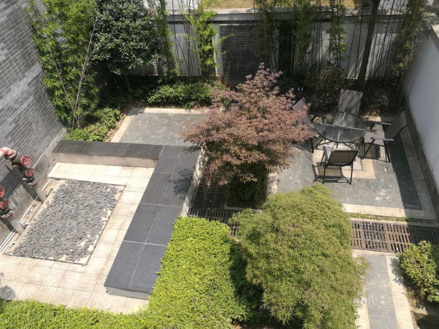 中国院子精工设计三重庭院,6米挑高下沉式庭院,入户意境前庭,闲雅生活