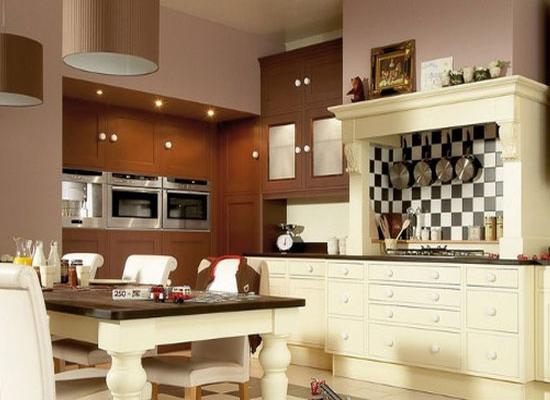 奢华浪漫家居空间 6款欧式风格厨房设计