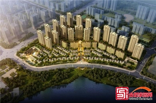 蓝光雍锦半岛7月探访记 高层项目全面建设中