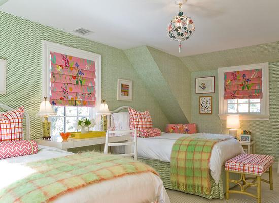 浪漫清新居家空间 简约温馨小卧室设计