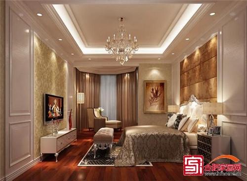温馨梦幻睡眠空间 5款时尚卧室吊顶设计
