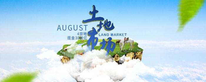 8月合肥土地市场