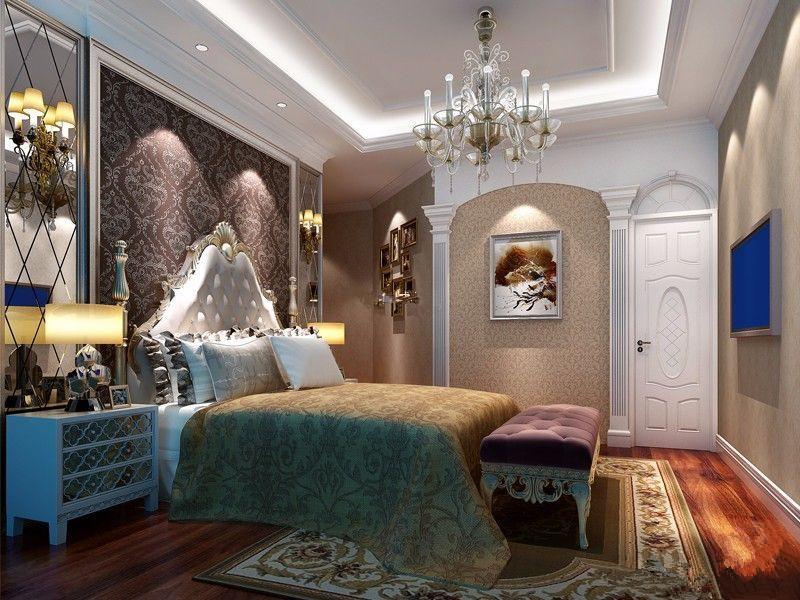 低调奢华欧式风 舒适温馨居室设计