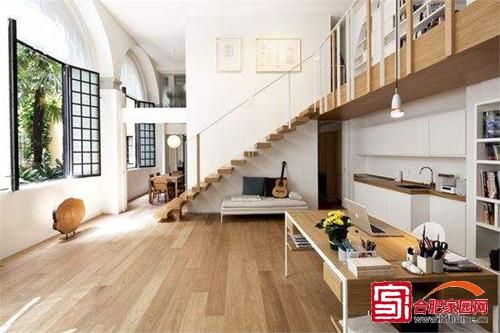 现代时尚居家空间 酷炫loft挑高户型设计