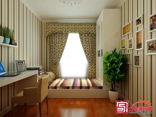 清新自然小户型 5款榻榻米卧室设计