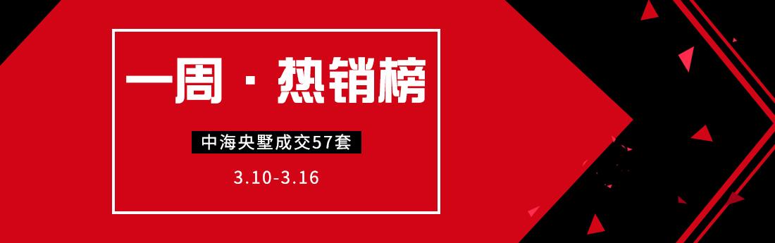 一周热销榜(3.10-3.16)