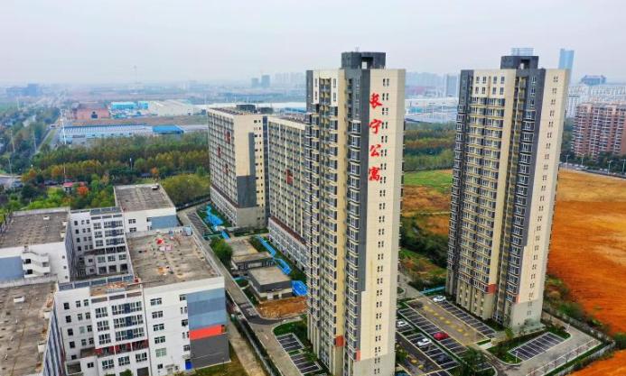合肥高新区首个国有市场化租赁住房即将精装亮相