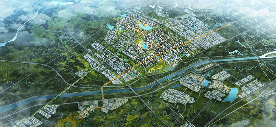 合肥运河新城核心区规划公布 定位高品质国际生活社区