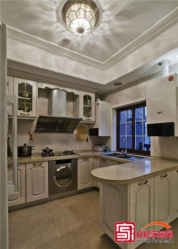 开放式大气厨房 8款餐厨一体厨房设计