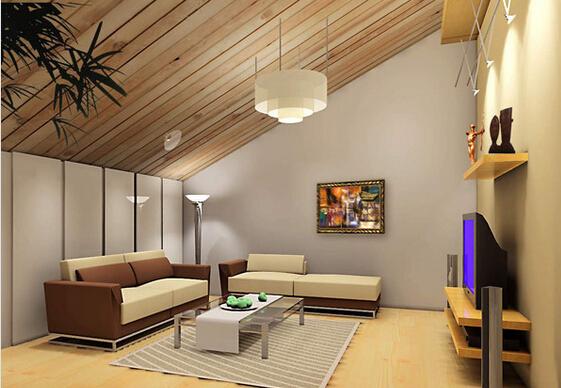 阁楼设计成客厅